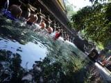 ティルタ・エンプル寺院は神聖な場所でした!