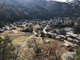 展望台から白川郷を撮影